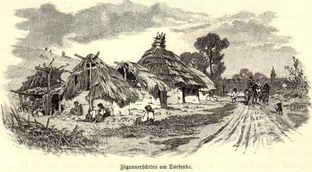 Bordeie ţigăneşti în Transilvania