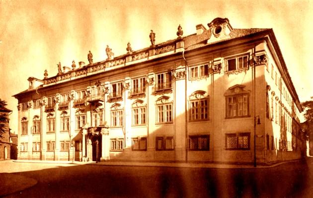 Praha Nosticky Palac