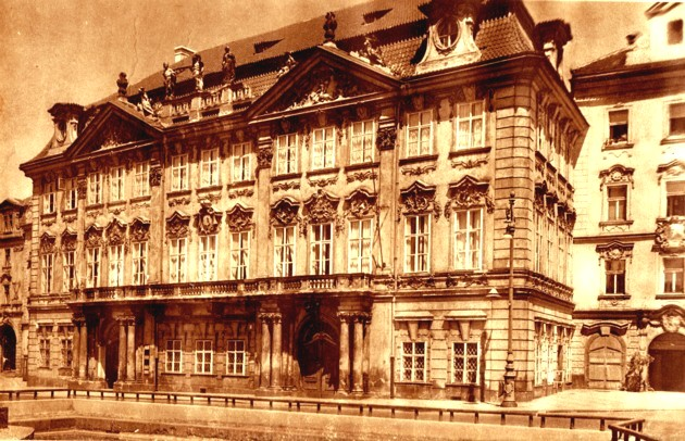 Praha Palac Kinskych