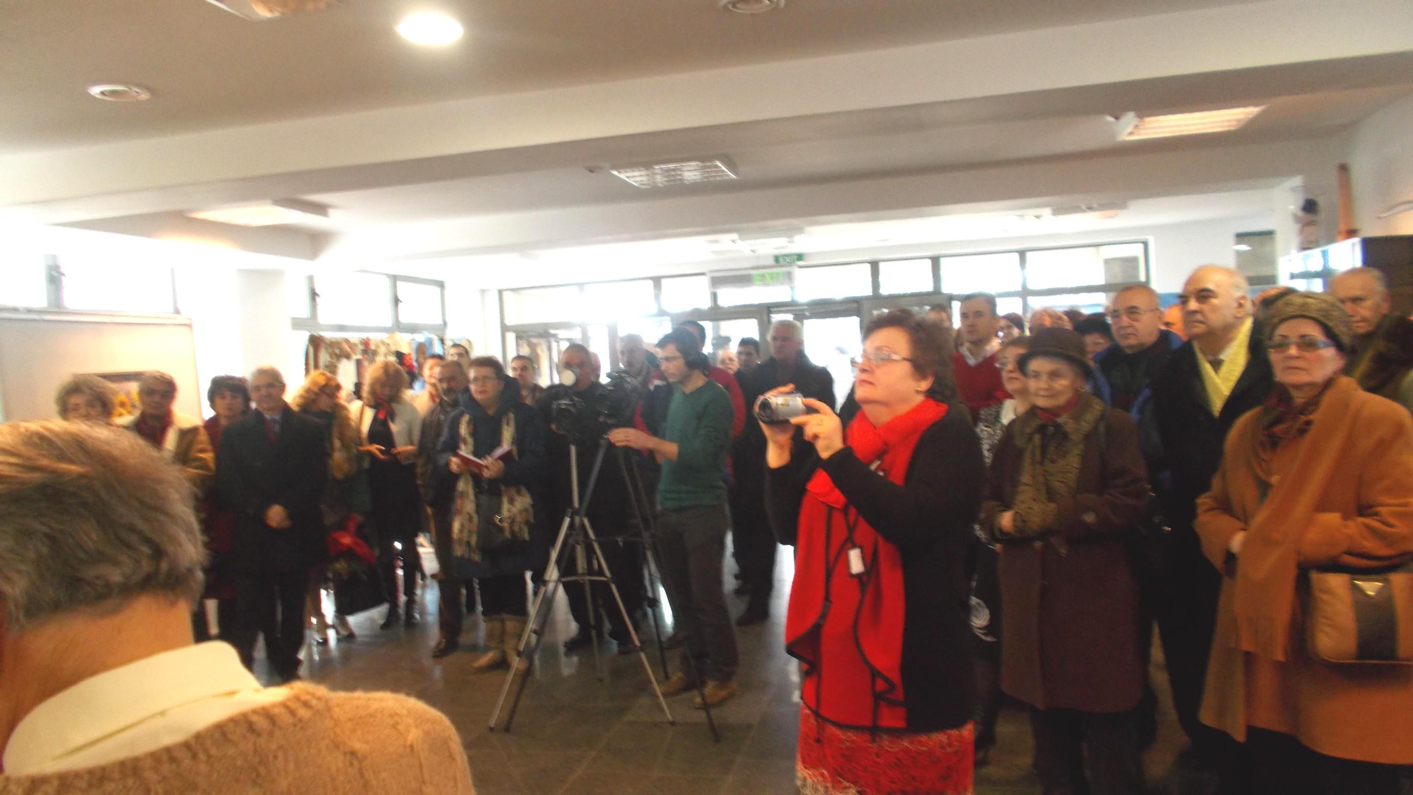 Publicul, în timpul manifestării