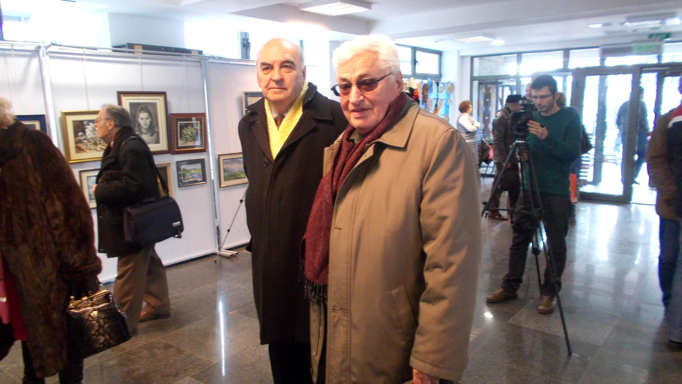 Mihai Iacobescu şi Ion Paranici