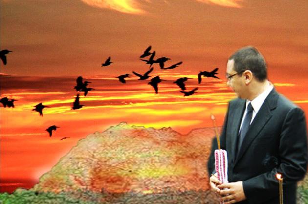 Victor Ponta: Trebuie să mă fac preşedinte, până nu se pustieşte cu totul!