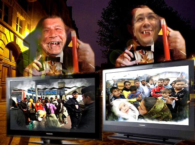 Băsescu, lui Ponta: Destul ne-a supt sângele Europa; e vremea să ne cam dăm la jugulara ei!