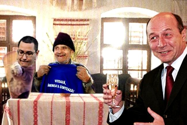 Traian Băsescu: V-am spus eu că Ponta e un pisicuţ?