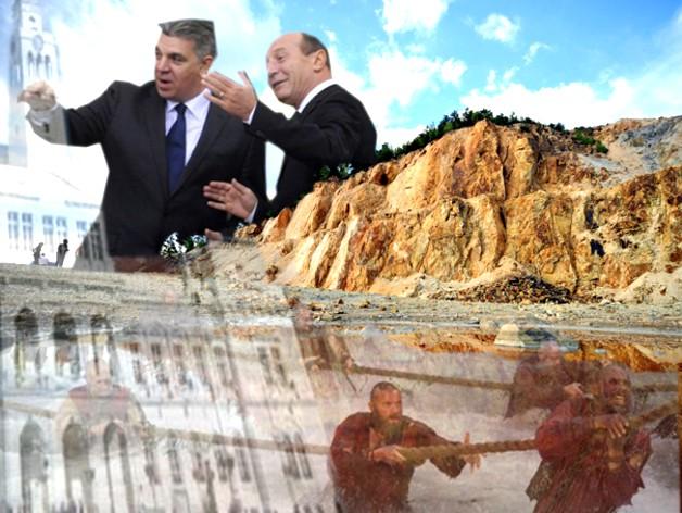 """VALERIU ZGONEA, la Roşia Montană: """"Cei care resping proiectul Roşia Montană să aducă soluţii. Nu pot fi doar Gică contra… Antonescu ar trebui să vină aici, ne votează şi cei din micile oraşe!""""."""