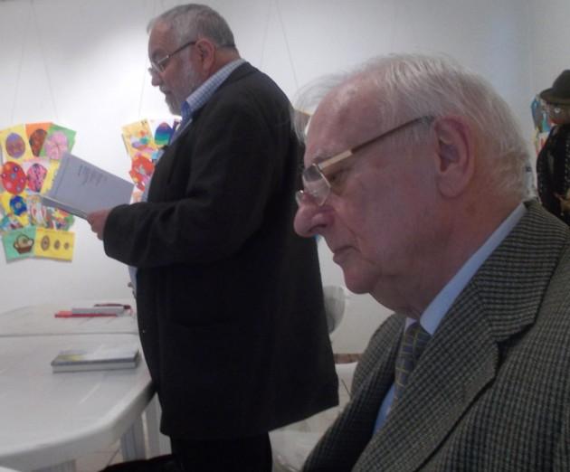 Radu Bercea si Menachem Falek