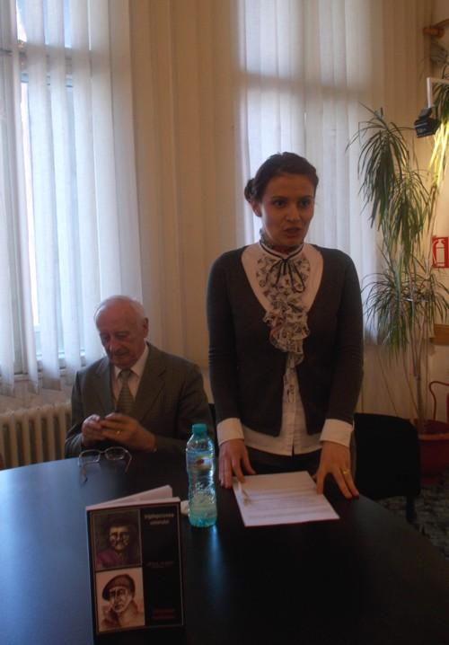 Violeta Codorean şi Radu Bercea