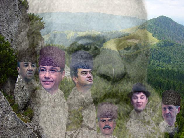 Negura Câmpulungului: Dom'le, Victor Ponta şi Domnul Nechifor e Rar-Rău, dom'le!