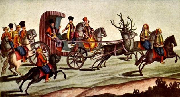 Sosirea primului voievod fanariot al Moldovei