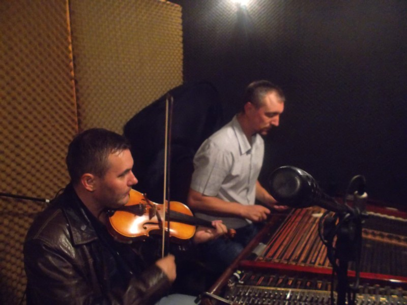 Razvan Mitoceanu si Petru Oloieru repetitie prima piesa