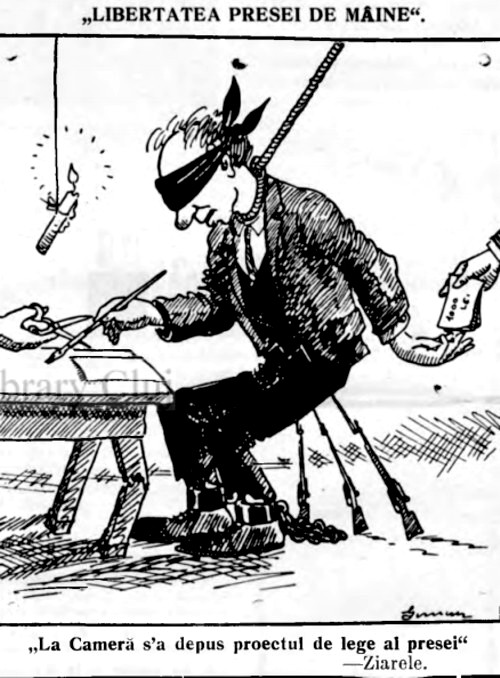Realitatea ilustrata 1927 Libertatea presei de maine