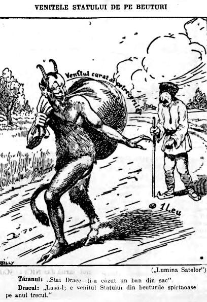 Realitatea ilustrata 1927 Venituri de pe bauturi