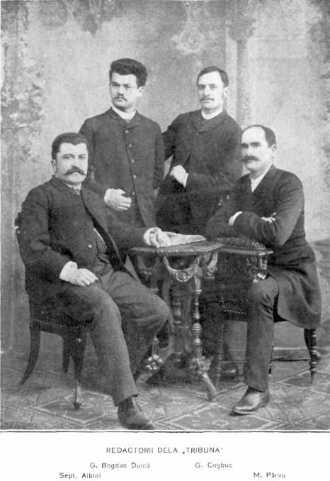 Redactorii de la Tribuna LUCEAFARUL 1919 martie 1