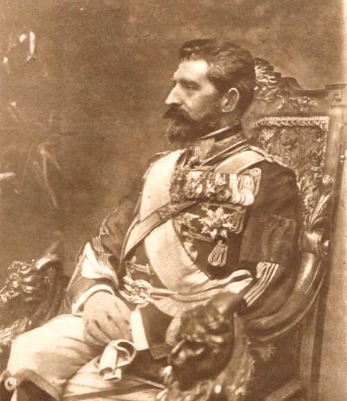 Le Miroir, 10 sept 1916: Regele Ferdinand - fotografie de presă