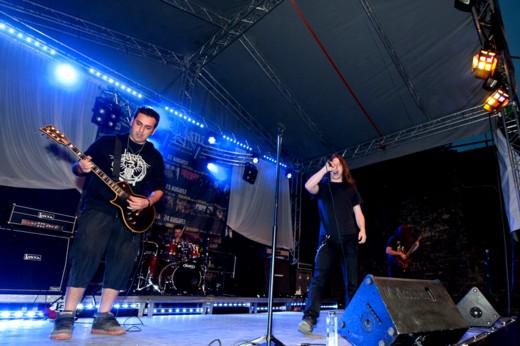 Cel mai recent, în România, Rejection a cântat la Cluj Napoca, împreună cu Weathers şi cu trupa care urmează - Fotografie de Victor T. RUSU