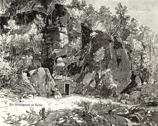Intrarea în peşteră