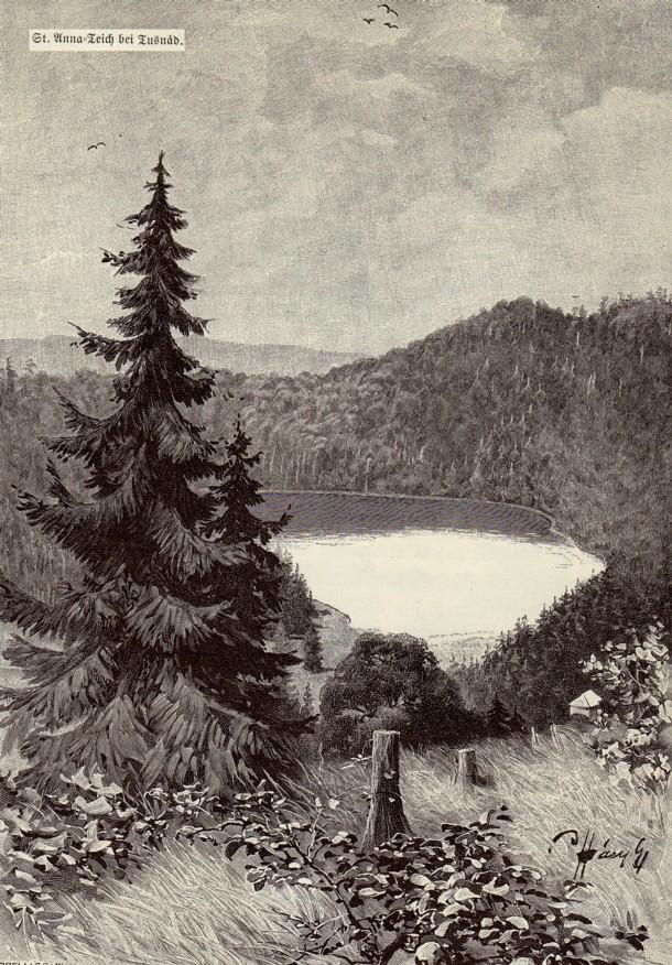 Lacul Sfânta Ana, de lângă Tuşnad