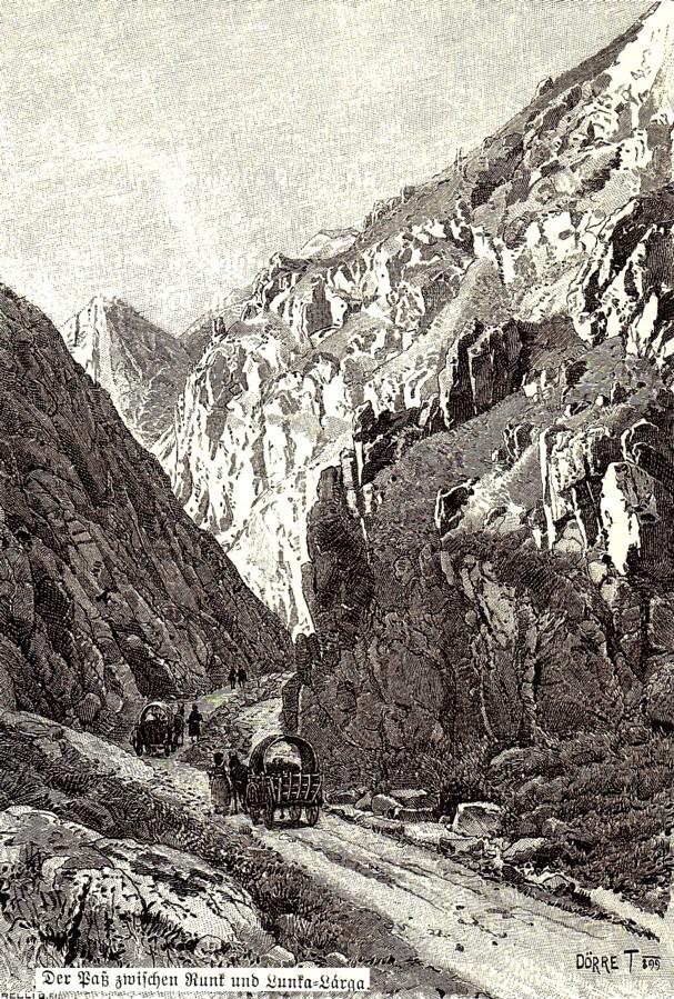 Trecătoarea Lunca - Larga