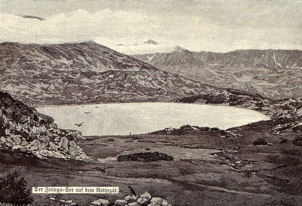 Lac vulcanic
