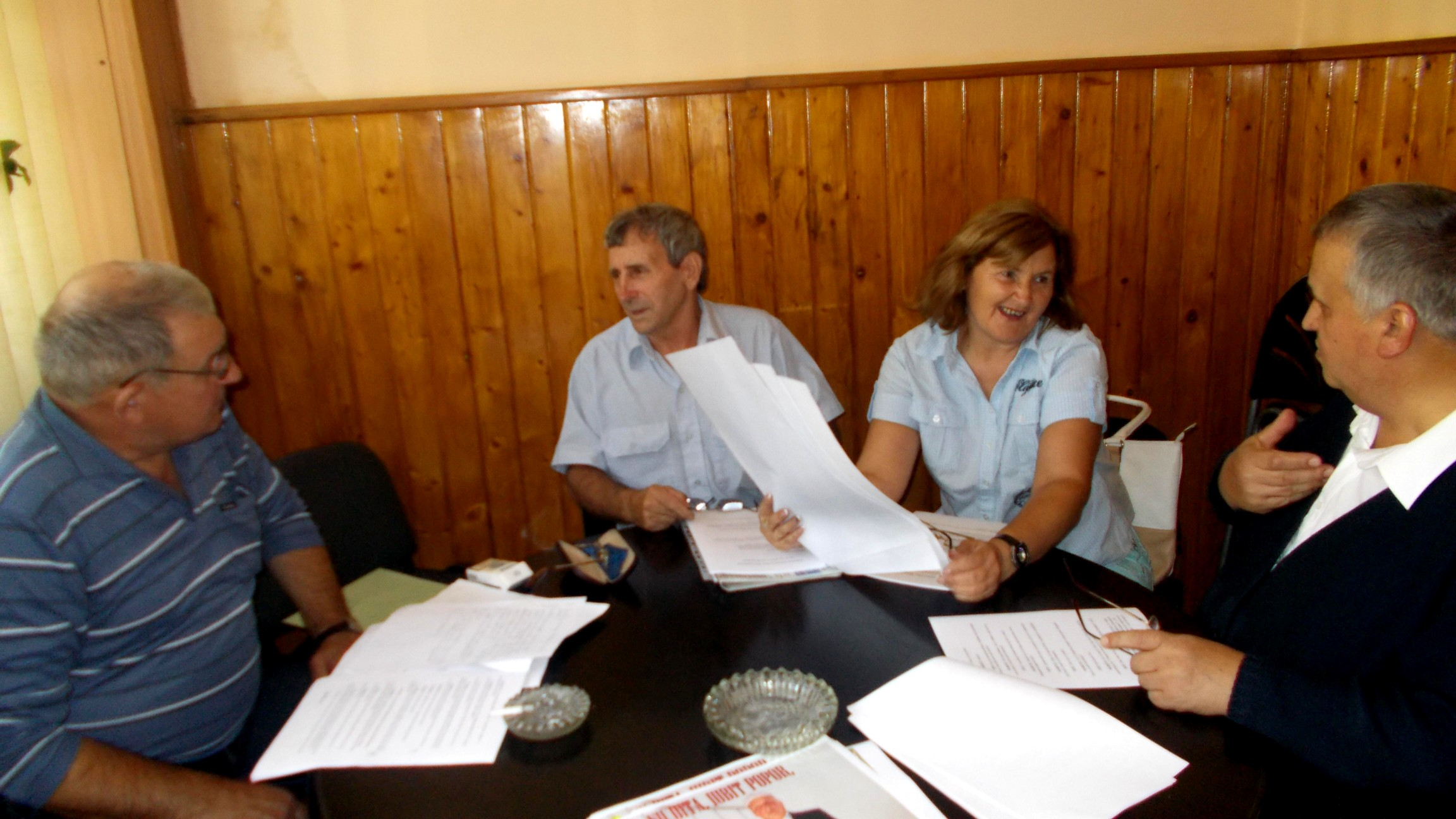 Georgel Mihalciuc, Ionel Davidiuc, Maricica Davidiuc şi Marcel Horodincă