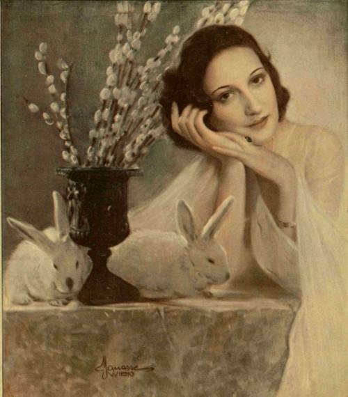 Reverie de Paşti - Realitatea ilustrată, 1930