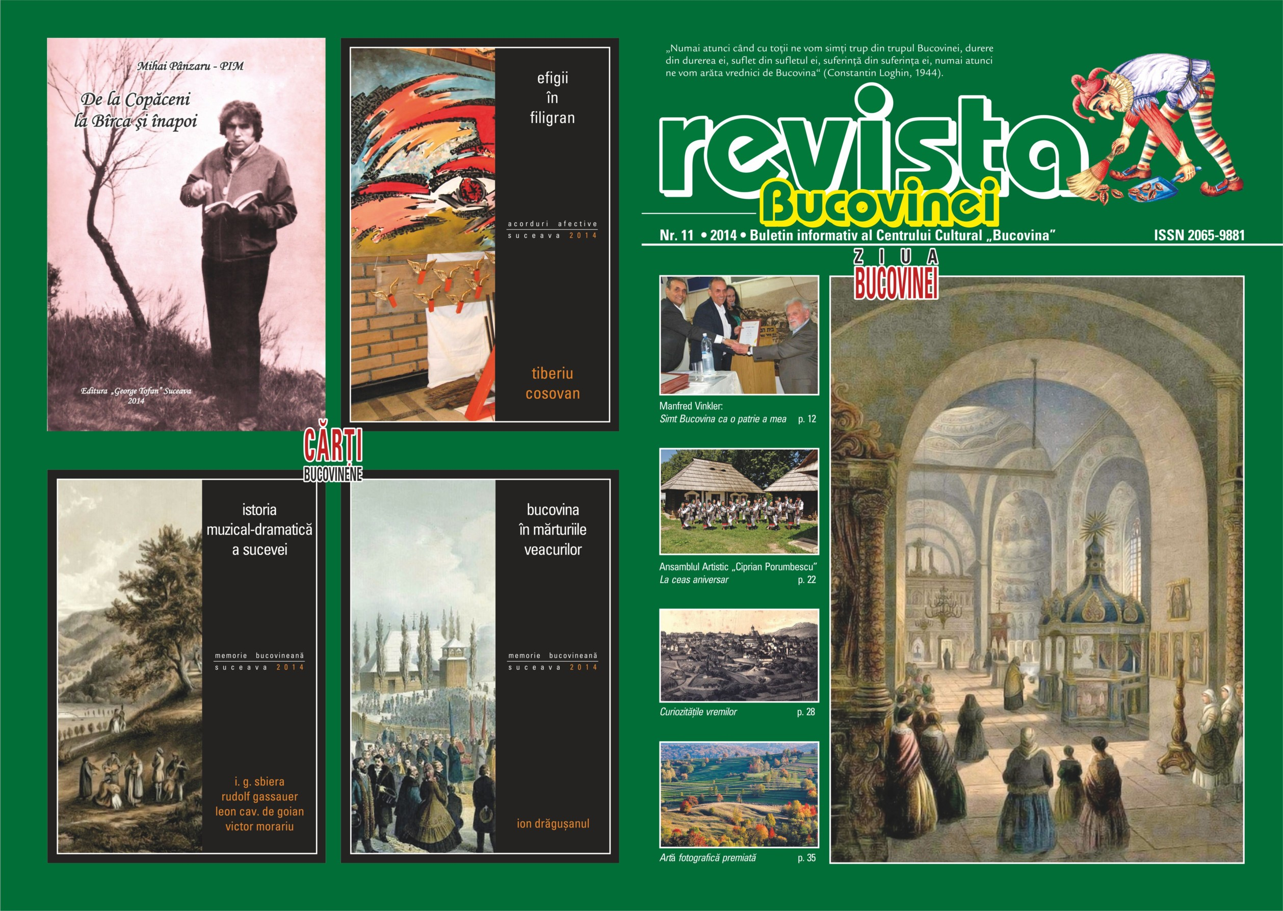 Revista Bucovinei 11 coperta