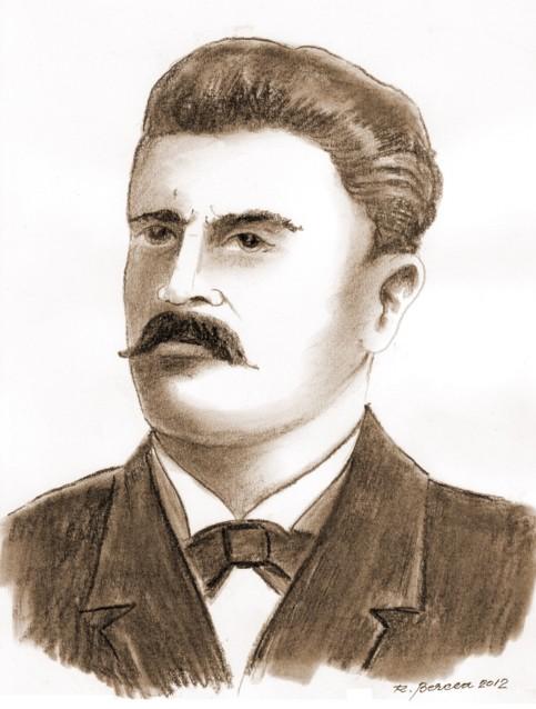 T. Robeanu - desen de Radu Bercea