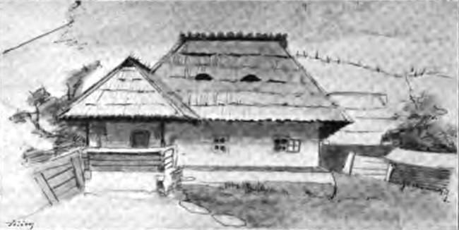 Casa românească din Valea Seacă