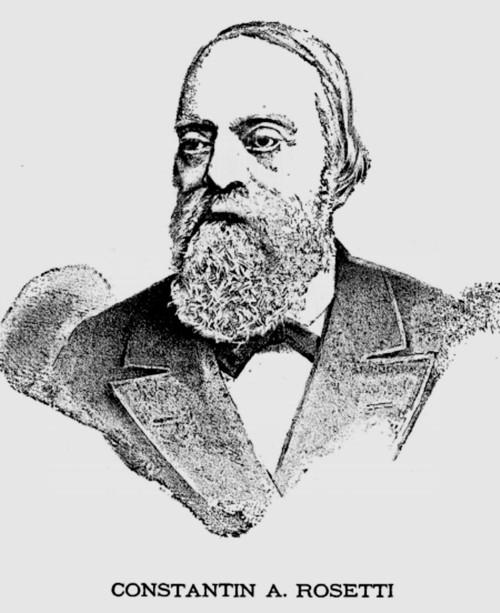 Rosetti C A LA ROUMANIE ILUSTREEA nr 4 1882 p 1