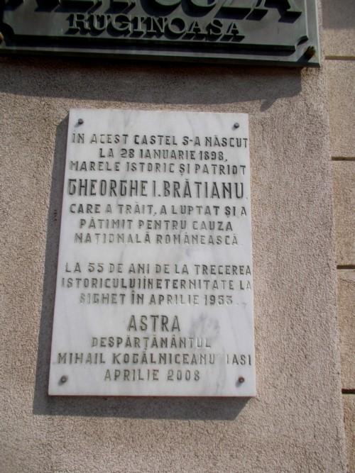 """""""Destinul blestemat al Ruginoasei a vrut ca fiul Brătianului să intre în casa lui Cuza Vodă"""""""