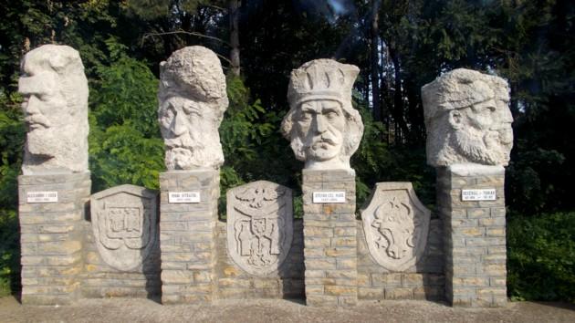 Ruginoasa Stalpii central