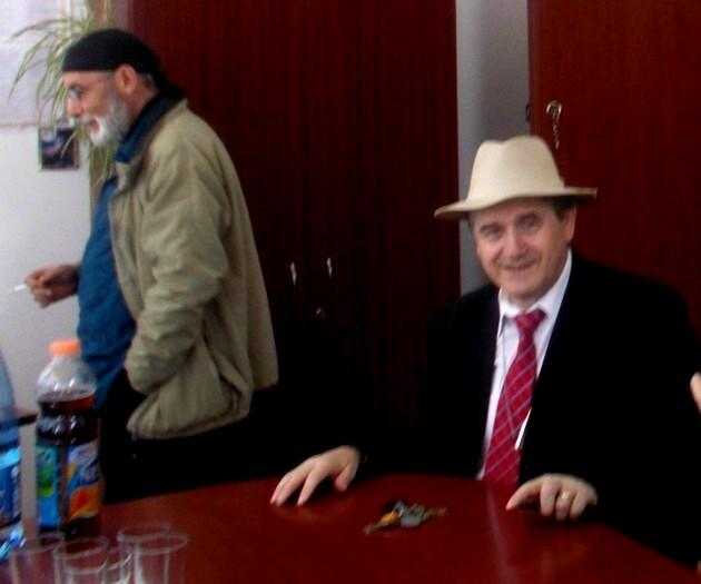 Victor Rusu şi Viorel Varvaroi