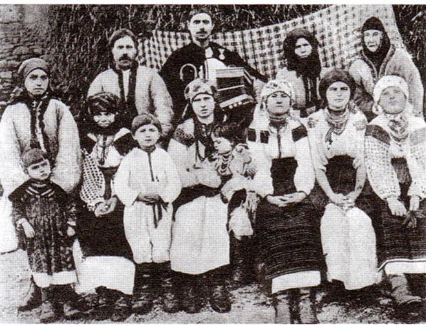 Altă familie de ruteni din nordul Bucovinei.