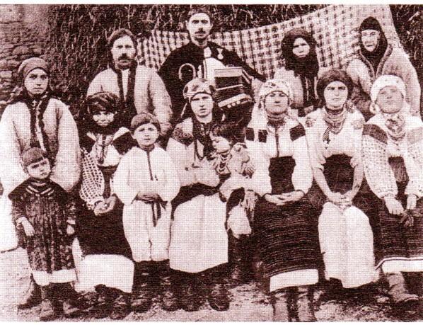 Familie de ruteni - fotografie de Dimitrie Dan