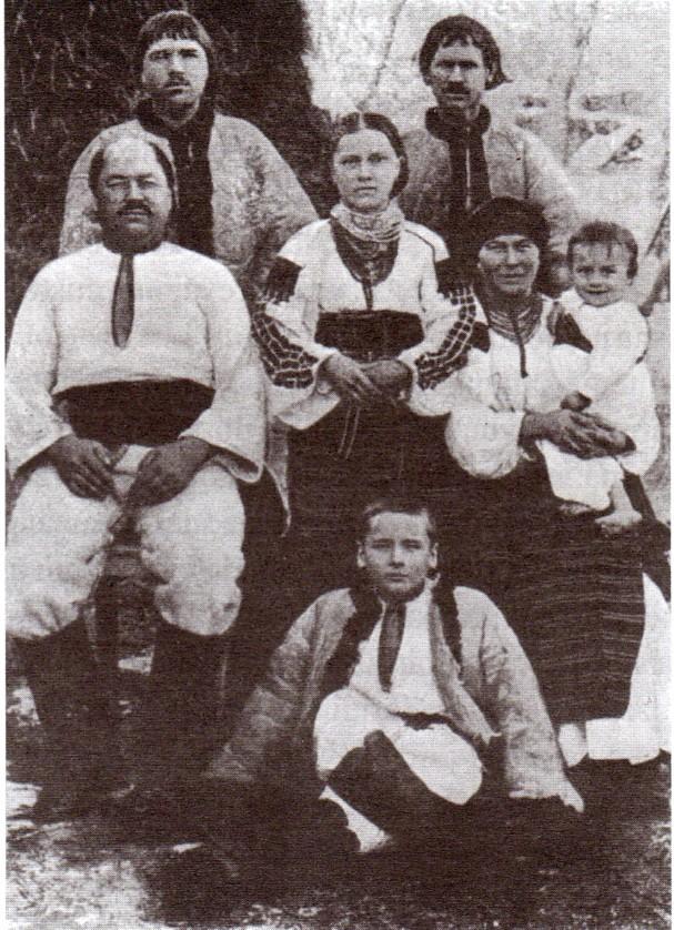 Familie de ruteni.