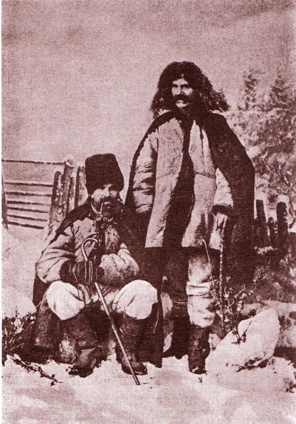 Ruteni, în îmbrăcăminte de iarnă - fotografie de Dimitrie Dan