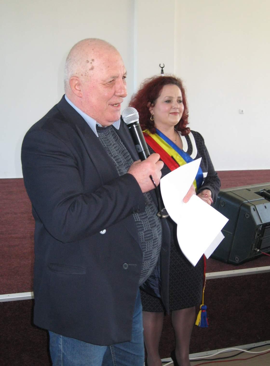 Ion Drăguşanul şi Violeta Ţăran