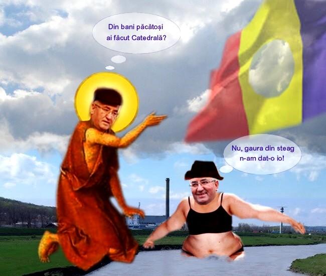 """Minunatul sfânt creştin de Suceava, primarul Ion Lungu, şi el pe deplin """"botezător"""""""