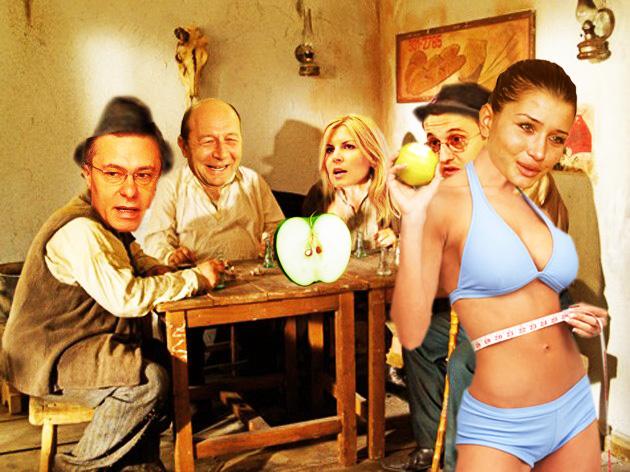 Elena Băsescu: Papa, mi-a spus mie Andrei Hrebenciuc că mărul îndeamnă la păcat!...
