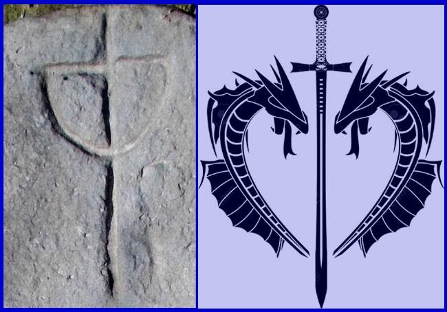 Stabia străbunilor cu simbolistica liniară a solstiţiului de vară