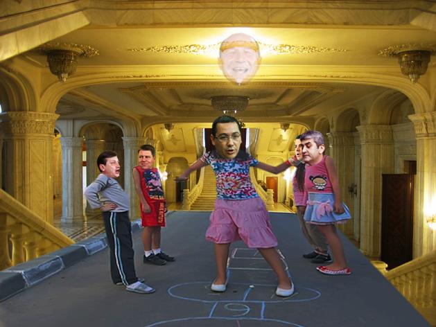 Victor Ponta: Crin, Klaus, Daniel, Generale, hai să ne jucăm de-a şotronul guvernării!