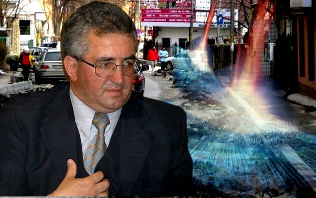 Primarul Ion Lungu: Credeţi-mă, de la asteroizi apar găurile peste noapte şi mă obligă să-l oblig pe frate-miu să le repare!