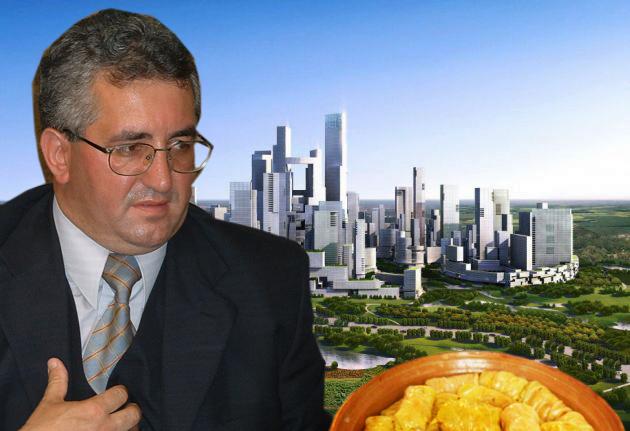 Primarul Ion Lungu: Dragi suceveni, în viitorul meu mandat, prin oraş au să curgă lapte, miere şi găluşte!