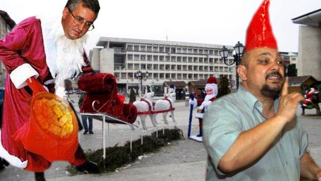 Consilierul municipal, cu probleme de incultură, Cornel Grosar: Dragi suceveni, Moş Crăciun vă pregăteşte surprizele unui an nou de poveste!...
