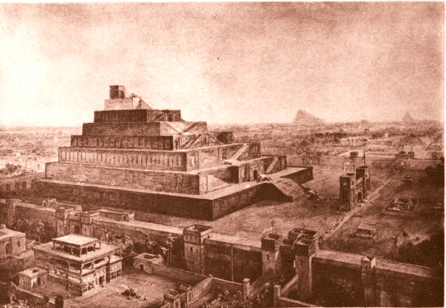 Turnul Babel, în The Sacred Books and Early Literature of the Est, Austin, 1915