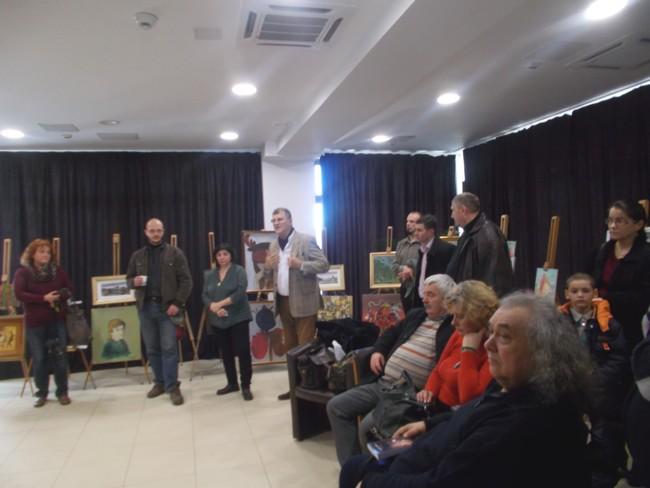 PIM, Viorica Moruz şi Sorin   Baciu (juriul), la vernisajul expoziţiei