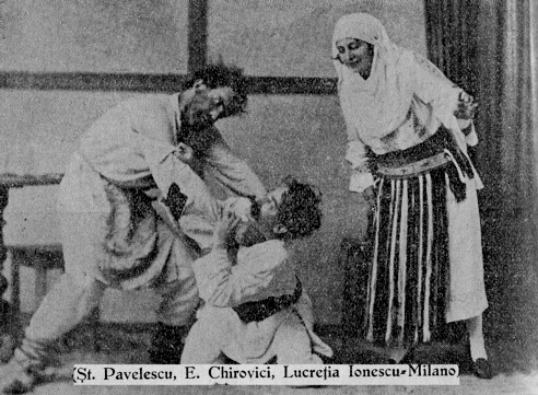 """""""Năpasta"""" lui Caragiale, jucată, la Suceava, în timpul vieţii autorului"""