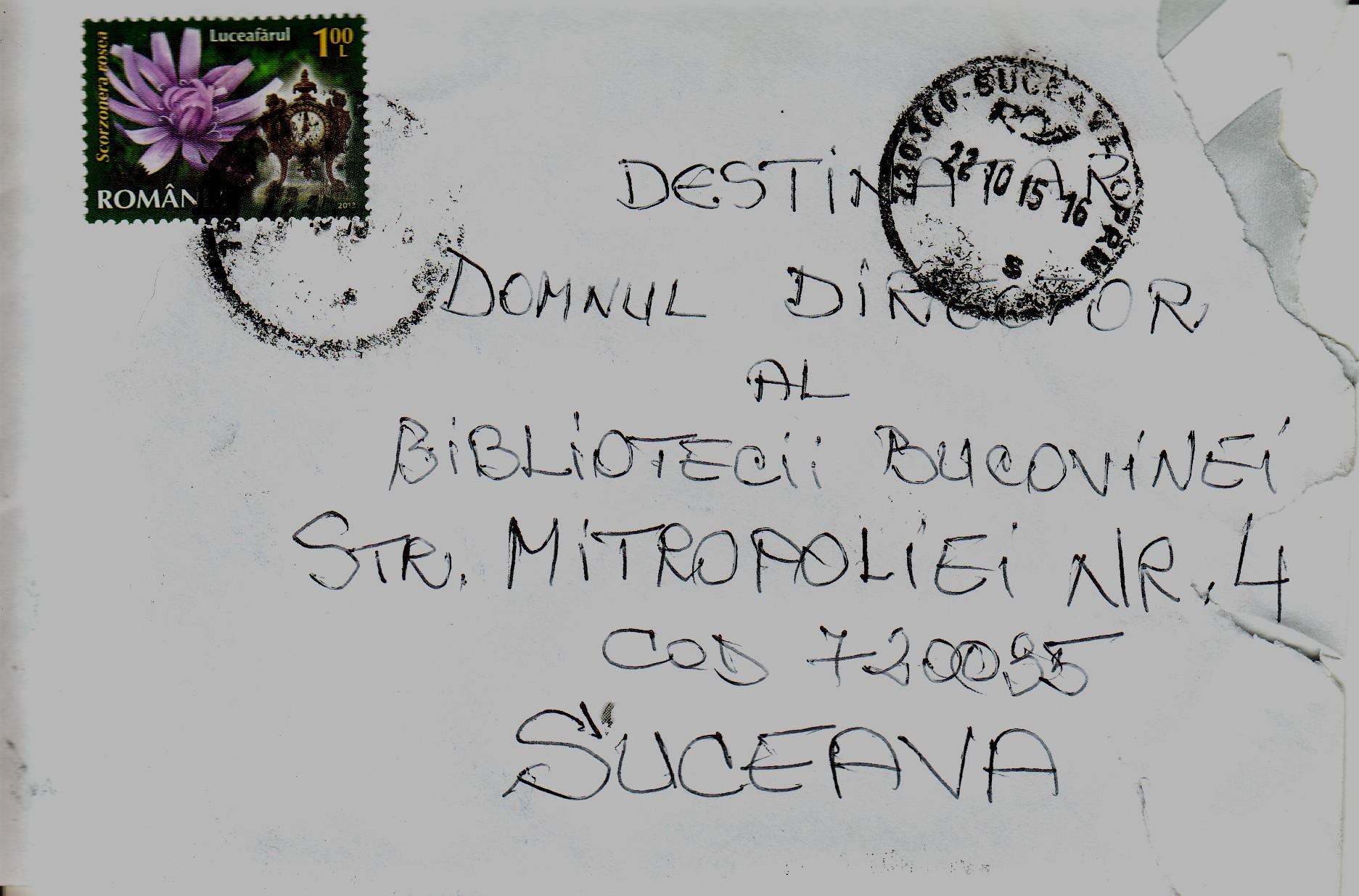 Scrisoare scrisoare