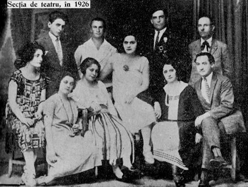 Sectia TEATRU 1926