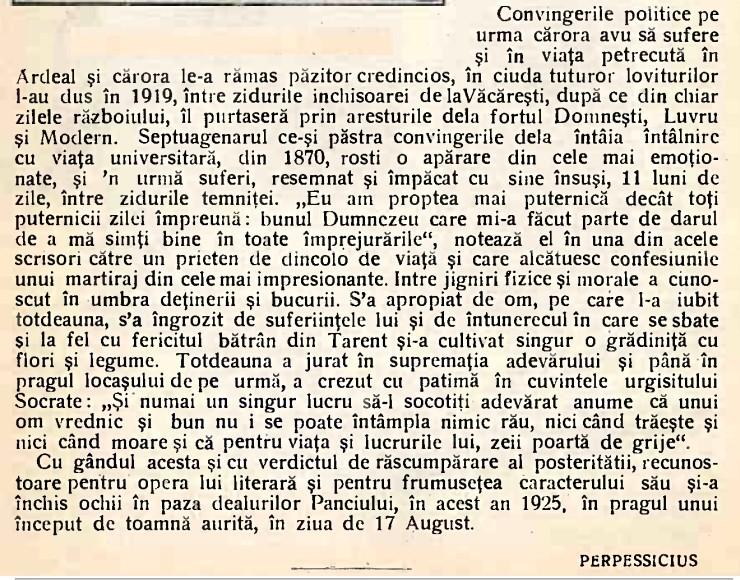 Calendarul Minervei pe anul 1926, pagina 22